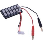 7.4V 2S Lipo Battery 12 Cell Parallel Ballanced Charging Board for RC Helicopter / Quadcopter