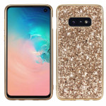 Glitter Powder Shockproof TPU Protective Case for Galaxy S10e (Gold)