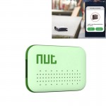 Nut Mini Intelligent Bluetooth 4.0 Anti-lost Tracking Tag Alarm Patch for Android / iPhone Devices(Green)
