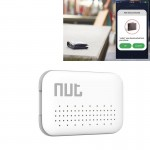 Nut Mini Intelligent Bluetooth 4.0 Anti-lost Tracking Tag Alarm Patch for Android / iPhone Devices(White)