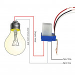 Automatic Switch Sensor Switch Photocell Street Light Switch Control(12V)