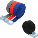 Car Tension Rope Luggage Strap Belt Auto Car Boat Fixed Strap with Alloy Buckle,Random Color Delivery,Length:5m