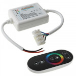 Wireless Touch Key RGB LED Controller, MAX Working Distance: 30m
