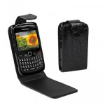 High Quality Leather Case for BlackBerry 8520