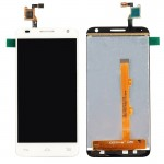 iPartsBuy LCD Screen + Touch Screen Digitizer Assembly for Alcatel One Touch Idol 2 Mini S / 6036 / 6036Y(White)