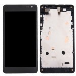 iPartsBuy 3 in 1 for Microsoft Lumia 535 2C (LCD + Frame + Touch Pad) Digitizer Assembly