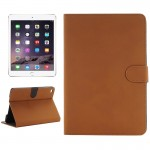 Archaize Texture Horizontal Flip Smart Leather Case with Holder for iPad Mini 4(Yellow)