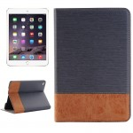 Cross Texture Horizontal Flip Smart Leather Case with Holder & Card Slots & Wallet for iPad Mini 4(Grey)
