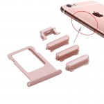 iPartsBuy for iPhone 6s Card Tray(Rose Gold )