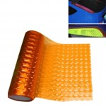 3D Effect Cat Eye Car Head Light Film Taillight Vinyl Film, Size: 30cm x 100cm(Orange)