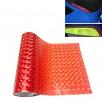 3D Effect Cat Eye Car Head Light Film Taillight Vinyl Film, Size: 30cm x 100cm(Red)