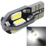 2 PCS T10 4W 280LM White Light 8 LED SMD 5630 Canbus Decode Car Clearance Lights Lamp, DC 12V