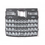 iPartsBuy Mobile Phone Keypads Housing Replacement with Menu Buttons / Press Keys for Nokia E72(Silver)