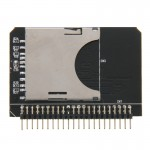 SD/ SDHC/ MMC To 2.5 inch 44 Pin Male IDE Adapter Card