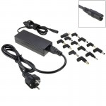 AU-90W+13 TIPS 90W Universal AC Power Adapter Charger with 13 Tips Connectors for Laptop Notebook, EU Plug