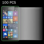 100 PCS for Microsoft Lumia 535 0.26mm 9H Surface Hardness 2.5D Explosion-proof Tempered Glass Screen Film