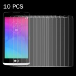 10 PCS for LG Leon / C40 0.26mm 9H+ Surface Hardness 2.5D Explosion-proof Tempered Glass Film