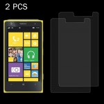 2PCS for Nokia Lumia 1020 0.26mm 9H+ Surface Hardness 2.5D Explosion-proof Tempered Glass Film