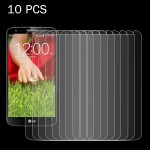 10 PCS for LG G2 mini / D620 0.26mm 9H Surface Hardness 2.5D Explosion-proof Tempered Glass Screen Film