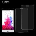 2 PCS For LG G3 mini 0.26mm 9H Surface Hardness 2.5D Explosion-proof Tempered Glass Screen Film
