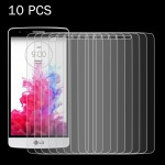 10 PCS For LG G3 mini 0.26mm 9H Surface Hardness 2.5D Explosion-proof Tempered Glass Screen Film