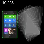 10 PCS for Nokia XL 0.26mm 9H+ Surface Hardness 2.5D Explosion-proof Tempered Glass Film