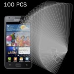 100 PCS for Samsung Galaxy SII / I9100 0.26mm 9H Surface Hardness 2.5D Explosion-proof Tempered Glass Screen Film
