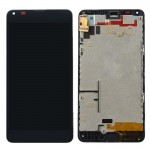 iPartsBuy LCD Screen + Touch Screen Digitizer Assembly with Frame for Microsoft Lumia 640