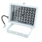 48 LED Auxiliary Light for CCD Camera, IR Distance: 50m (ZT-48W) , Size: 9x12.5x8cm(White)
