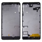 iPartsBuy for Microsoft Lumia 550 Front Housing LCD Frame Bezel Plate Replacement