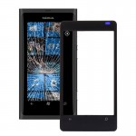 iPartsBuy for Nokia Lumia 800 Front Screen Outer Glass Lens(Black)
