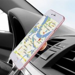 Universal Magnetic Car Air Vent Mount Phone Holder for iPhone 6 / 6s / 6 Plus / 6s Plus(Gold)