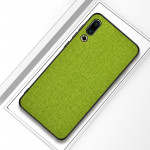 Shockproof Cloth Texture PC+ TPU Protective Case for Meizu 16s (Green)