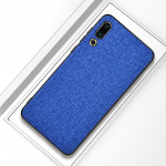 Shockproof Cloth Texture PC+ TPU Protective Case for Meizu 16s (Dark Blue)