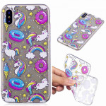 Painted TPU Protective Case For Galaxy S10e(Cake Horse Pattern)