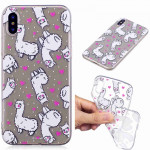 Painted TPU Protective Case For Galaxy S10 Plus(Alpaca Pattern)