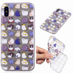 Painted TPU Protective Case For Galaxy S10 Plus(Mini Cat Pattern)