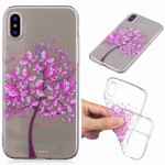 Painted TPU Protective Case For Galaxy S10 Plus(Butterfly Tree Pattern)