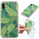 Painted TPU Protective Case For Huawei P30 Pro(Banana Leaf Pattern)