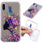 Painted TPU Protective Case For Huawei P30 Pro(Floral Girl Pattern)