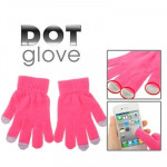 Dot Gloves of Touch Screen for iPhone 5, iPhone 4 & 4S / iPad / iPod Touch, BlackBerry, HTC and other Touch Screen Mobile Phones