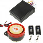 Waterproof Motorcycle Remote Control Alarm System, Free Adjustment of Sensitivity, Working Frequency: 315MHZ