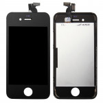 iPartsBuy 3 in 1 for iPhone 4S (Original LCD + Frame + Touch Pad) Digitizer Assembly(Black)