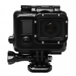 For GoPro HERO3 ABS Skeleton Housing Protective Case Cover with Buckle Basic Mount & Lead Screw
