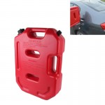 Gasoline Fuel Tanks Plastic 2.6 Gallon 10 Litres Auto Shut Off Fuel Cans Oil Container Emergency Backup(Red)