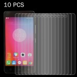 10 PCS for Lenovo K6 Note 0.26mm 9H Surface Hardness 2.5D Explosion-proof Tempered Glass Screen Film