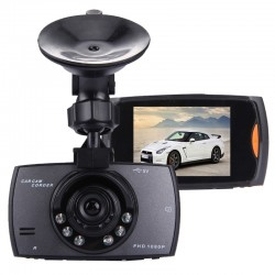 Car DVR Camera 2.7 inch LCD 480P 1.3MP Camera 120 Degree Wide Angle Viewing, Support Night Vision / Motion Detection / TF Card / G-Sensor