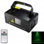 DM-G50 18W LED Single Beam Laser Projector with Remote Controller, Auto Run / Sound Control Modes, AC 100-240V(Green Light)