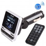 FM12B Car Bluetooth FM Transmitter with Remote Control, Support USB / TF Card / MP3 Music Play