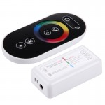 S103 RGB 6-touches RF sans fil LED Full Touch Controller avec support mural, DC 12-24V - Wewoo